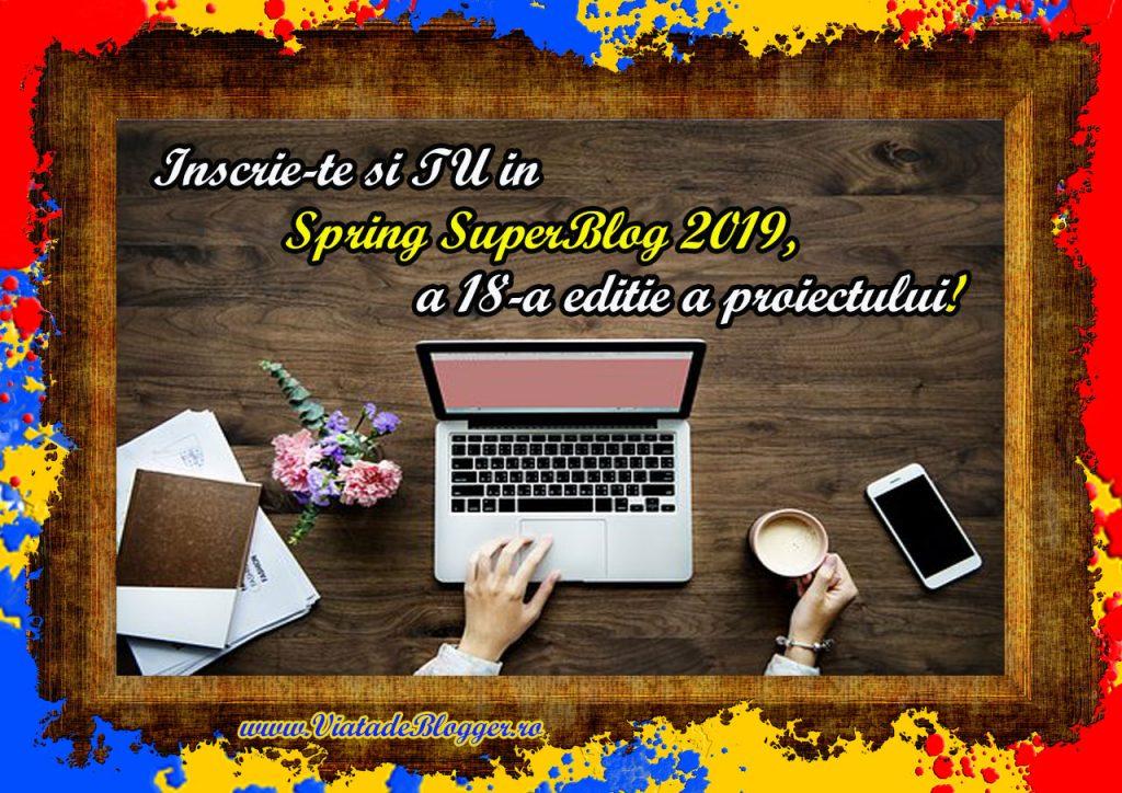 Anunt-Spring SuperBlog 2019